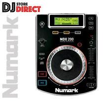 Numark NDX200 PROFESSIONAL TABLETOP CD MEDIA PLAYER SINGLE DECK DJ **FREE P&P**