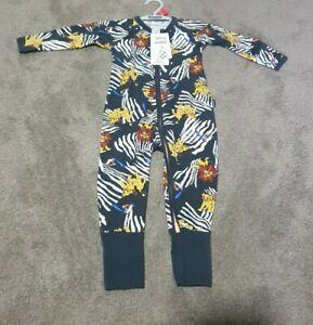 Bonds Disney The Lion King Zippy Black edition Wondersuit Size 1 jumpsuit BNWT