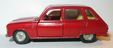 AUTO PILEN RENAULT 6 ROUGE 1968 REF 204 MADE IN SPAIN 1974 1/43 NO BOX
