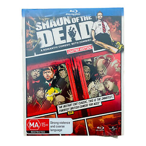 New SHAUN of the DEAD BLU-RAY DVD Limited Edition Simon Pegg 2011 New & Sealed