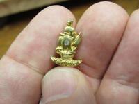 Brig Sailboat Ship Customer Company  Galleon Service Award Pin  (18B2)