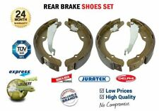 Rear Axle BRAKE SHOES SET for VW CADDY II Box 75 1.6 1995-2000