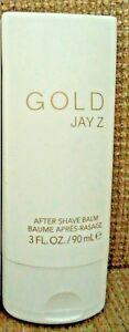 GOLD by JAY Z  AFTER SHAVE BALM 3.0 FL OZ  *NEW*