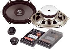 """Ground Zero Radioactive GZRC 6857X 5""""x7"""" 6""""x8"""" Component Speaker Set 120W RMS"""