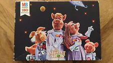 Puzzle Vintage MB « The Muppet Show - 280 Pièces » Bon Etat.