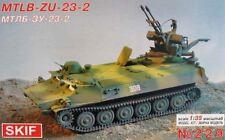 MT-LB ZU-23-2 SPAAG/APC (CZECHOSLOVAK, RUSSIAN & SOVIET MKGS) 1/35 SKIF