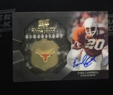 2012 Exquisite Earl Campbell Dimensions Shadow Box Auto Autograph #9/60 (bb 58)