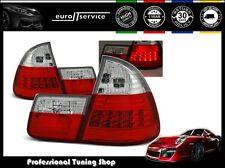 FEUX ARRIERE ENSEMBLE LDBM28 BMW E46 1999 2000 2001 2002 2003 2004 2005 RED LED