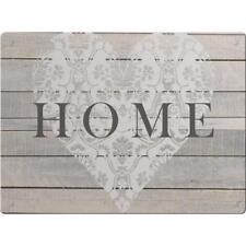 Glasschneideplatte Abdeckplatte HOME beige braun Glas 40x30cm Creative Tops