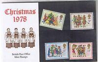 GB Presentation Pack 104 1978 Christmas