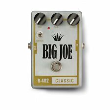 Big Joe Stomp Box Company R-402 Raw Series Classic Tube Pedal +Picks