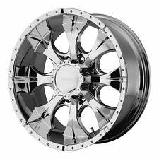 "Helo 17x9 HE791 Maxx Wheel Chrome 8x6.5 8x165.1 PCD -12mm Offset 4.53""BS"