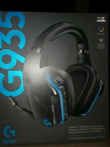 Logitech G935 LYGHTSYNC RGB Headset 7.1 Surround Sound für PC, PS4,Xbox NAGELNEU