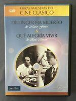 DVD DILLINGER HA MUERTO + QUÉ ALEGRÍA VIVIR Marco Ferreri René Clément A Delon