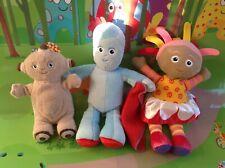 In The Night Garden Makka Pakka with Talking Upsy Daisy & Igglepiggle Plush Toys
