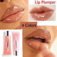 New Plumper Lips Makeup Long Lasting Glitter Lip Gloss Shimmer Liquid Lipstick