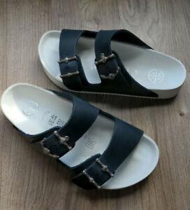 Birkenstock Arizona Patrik Muff Sandals EU 41 Womens 10 10.5 Exquisite $799