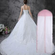 180* 60cm White Wedding Dress Bridal Gown Garment Breathable Cover Storage Bag A