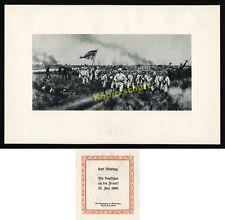 RÖCHLING Chine Boxer soulèvement TIENTSIN hsiku Drapeau Kottwitz ZELANDE Buchholz 1900