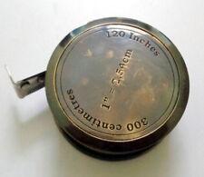 Brass Antique Flate Measuring Tape Measure Vintage Victorian Gift Item