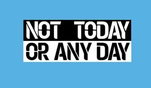 Not Today Or Any Day 21/22 Racism Championship League EFL Patch Football Shirt