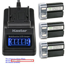 Kastar Battery LCD Quick Charger for Nikon EN-EL1 MH53 Nikon Coolpix 4500 Camera