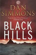 """""""VERY GOOD"""" Simmons, Dan, Black Hills, Book"""