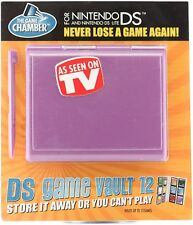 DS Game Vault 12 Game Chamber Storer Nintendo DS & Lite w/ Stylus As Seen On TV