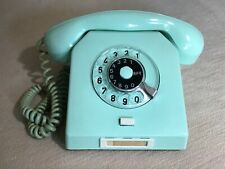 W63a NORDFERN Wählscheibentelefon Bakelit pastell mint