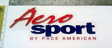 Pace Trailer - Aero Sport Decal - Part #670240 (from OEM supplier)