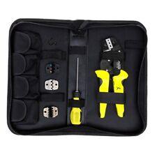 Paron JX-D4 Cable Wire Terminal Crimper Ratcheting Crimping Plier Tool Kit Set