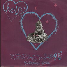 "hole teenage whore 7"" green vinyl germany"