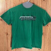 Harley Davidson High Octane Billerica MA T-Shirt Size XL Green