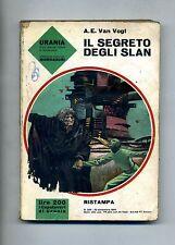 A.E.Van Vogt # IL SEGRETO DEGLI SLAN # Mondadori 1964 - Urania