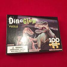 DinoGlow Glow-In-The-Dark 100 Piece Puzzle New UnOpened