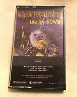 VTG 1985 IRON MAIDEN: 'LIVE AFTER DEATH' Cassette Tape! IMO, The Best Version