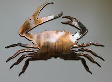 """Clawing Crab copper/bronze plated 8"""" x 7"""""""