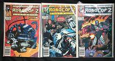 Robocop 2 Comics #1 2 3 Complete Limited Series Lot 1990 Comic Book
