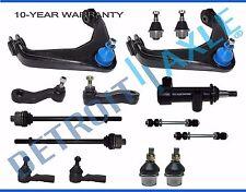 Upper Control Arm Tierod Ball Joint Sway Bar Idler 3-Grv Pitman Arm 13p - 8-Lug