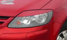 RDX Scheinwerferblenden VW Golf 5 Plus Böser Blick Blenden Spoiler Tuning