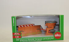 Siku 2058 Salt Spreader with Dozer Blade for Tractor 1:3 2 NEW BOXED