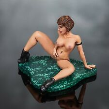 tin toy soldiers  54 mm painted sexy girl. xxx Girl-25