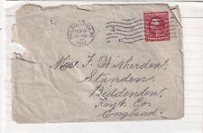 United States 1912 Philadelphia PA-Biddenden UK Cover