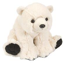 Eisbär sitzend ca 20 cm Kuscheltier Plüschtier Stofftier frisch gewaschen Stofftiere