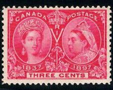 Canada Stamp #53 - Queen Victoria Jubilee (1897) 3¢ MLH