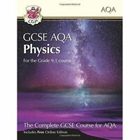 New Grade 9-1 GCSE Physics for AQA: Student Book with Online Edition by CGP...