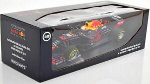 Minichamps 1:18 AstonMartin Red BullRB15 Verstappen 1stBrazil 2019 1/500 DAMAGED