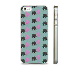 ELEPHANT BUBBLEGUM FUNKY PHONE CASE FITS IPHONE 4 4S 5 5S 5C 6 6S 7 8 SE PLUS X