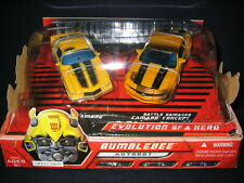 07 BUMBLEBEE Transformers Movie Deluxe Evolution of a Hero 2-Pack Damaged Bee