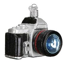 CAMERA PHOTOGRAPHY PHOTOGRAPHER OLD WORLD CHRISTMAS GLASS ORNAMENT NWT 32227